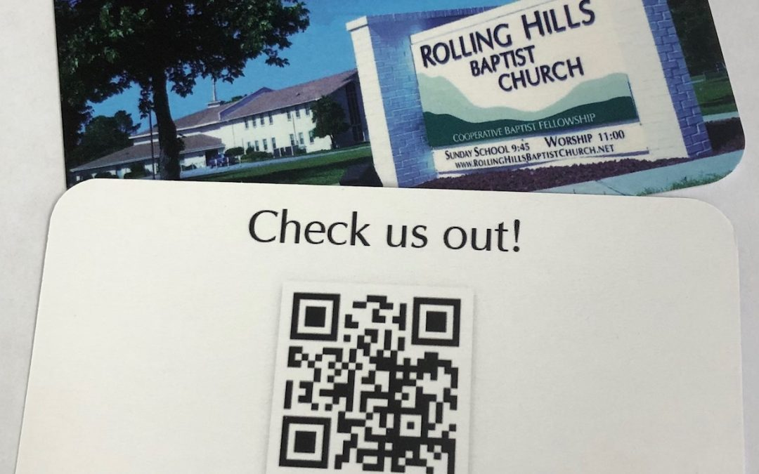 Grab some RHBC website cards and let people know about our church!